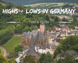Our highs and lows from our Germany roadtrip