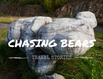 Chasing bears in Canada…