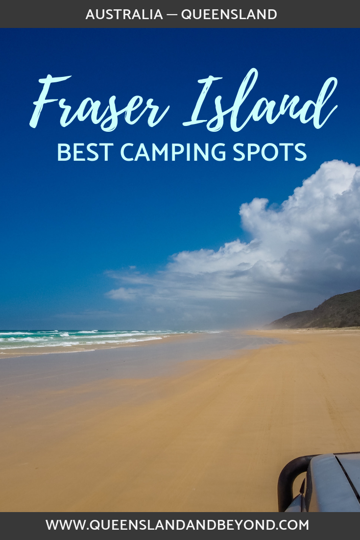 Exploring Fraser Island in Queensland, Australia, by 4WD and camping is one of the best way to see the island. But where should you camp on this adventure trip? Here's what to expect staying at three different campgrounds around this sandy island. 🌐 Queensland & Beyond