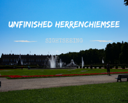 Touring unfinished Schloss Herrenchiemsee