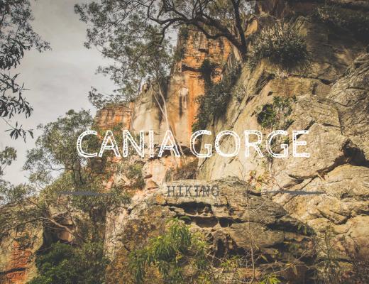 Cania Gorge (Sandstone Belt road trip)