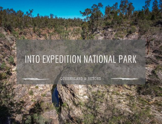 Expedition National Park (Sandstone Belt road trip)
