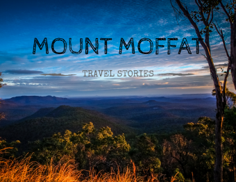 Exploring Mount Moffat (Sandstone Belt road trip)
