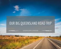 Queensland is REALLY big… (Sandstone Belt road trip)