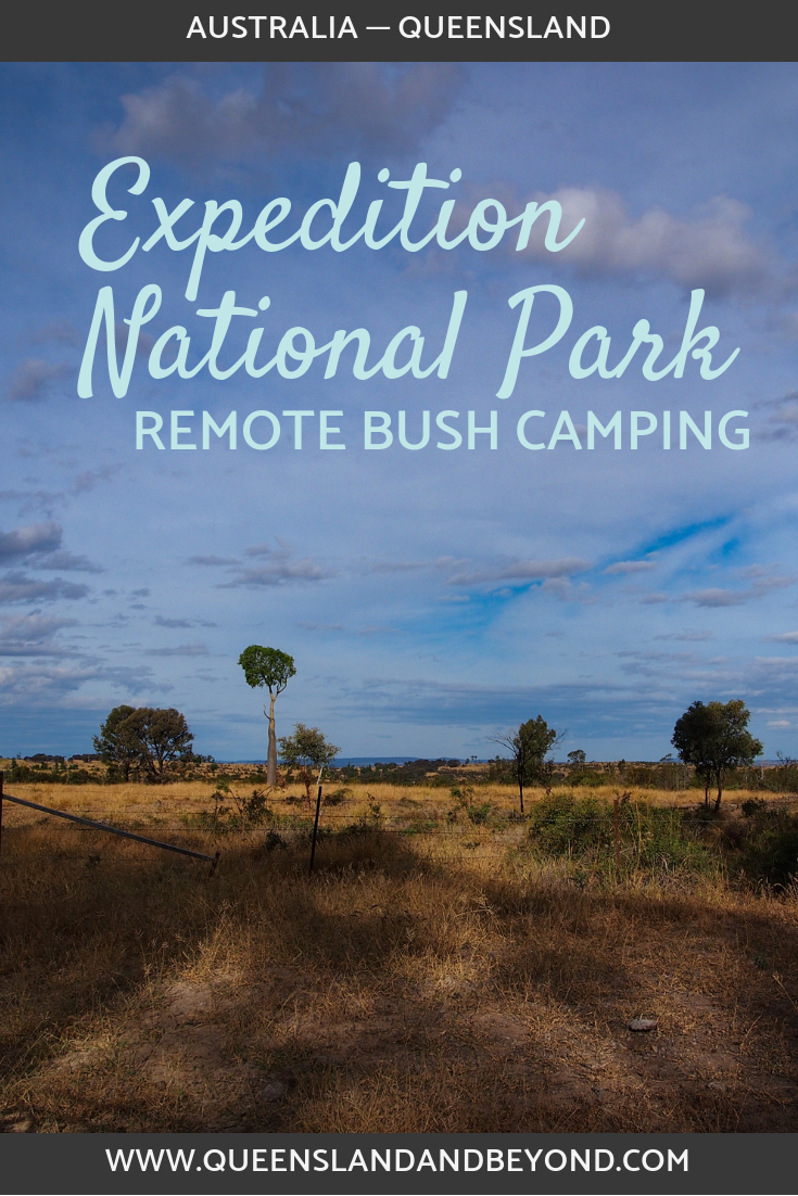 Expedition National Park Camping options