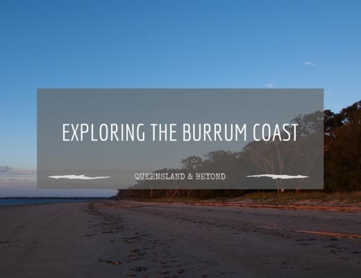 Beach driving along the Burrum Coast
