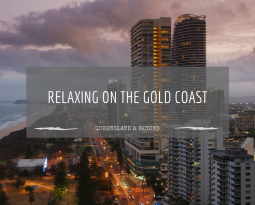 Adjusting to new heights… relaxing on the Gold Coast