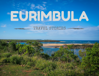 Getting eating alive by mozzies: Eurimbula NP