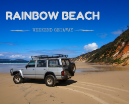 In search of the coloured cliffs of Rainbow Beach
