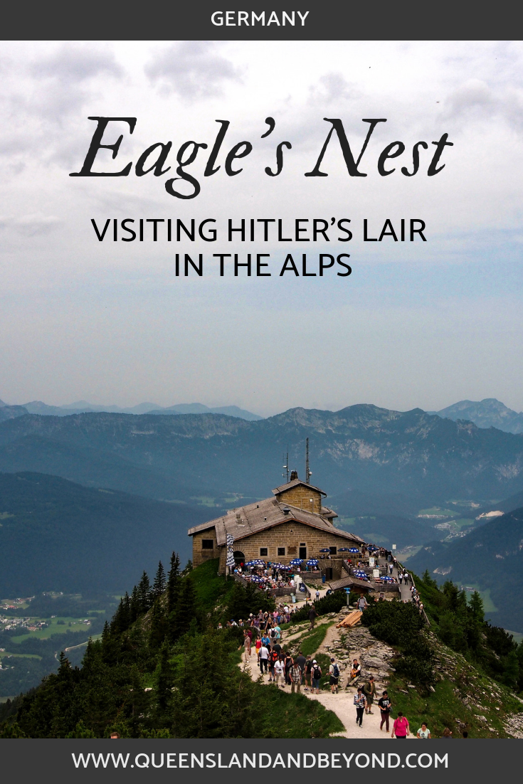 Eagle's Nest was Hitler's mountain retreat high up in the German Alps. Sightseeing at its crowded best so here are some tips and ideas on how to make the most of your visit to this corner of #Germany. 🌐 Queensland & Beyond #eaglesnest #berchtesgaden #hitler