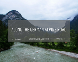 Driving the German Alpine Road but not seeing much
