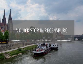 Quick stopover in Gothic Regensburg