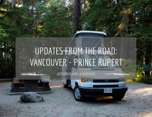 From the road: Vancouver to Prince Rupert (DAY 1-8)