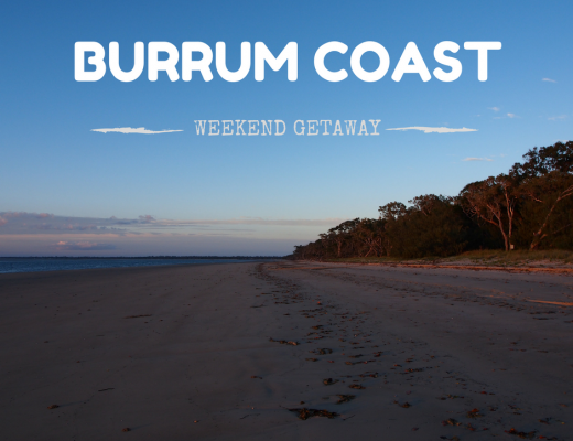 Beach driving along the Burrum Coast