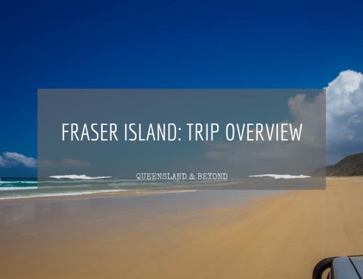 4WD-ing around Fraser Island at Christmas