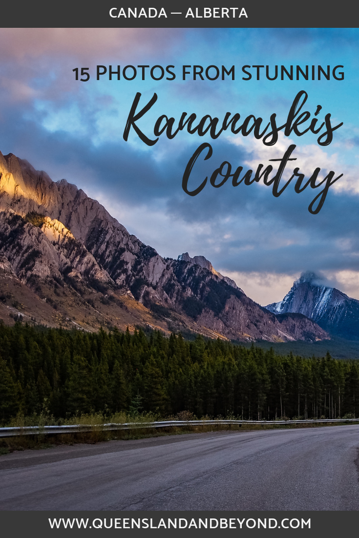 Road trip in Kananaskis Country, Canada