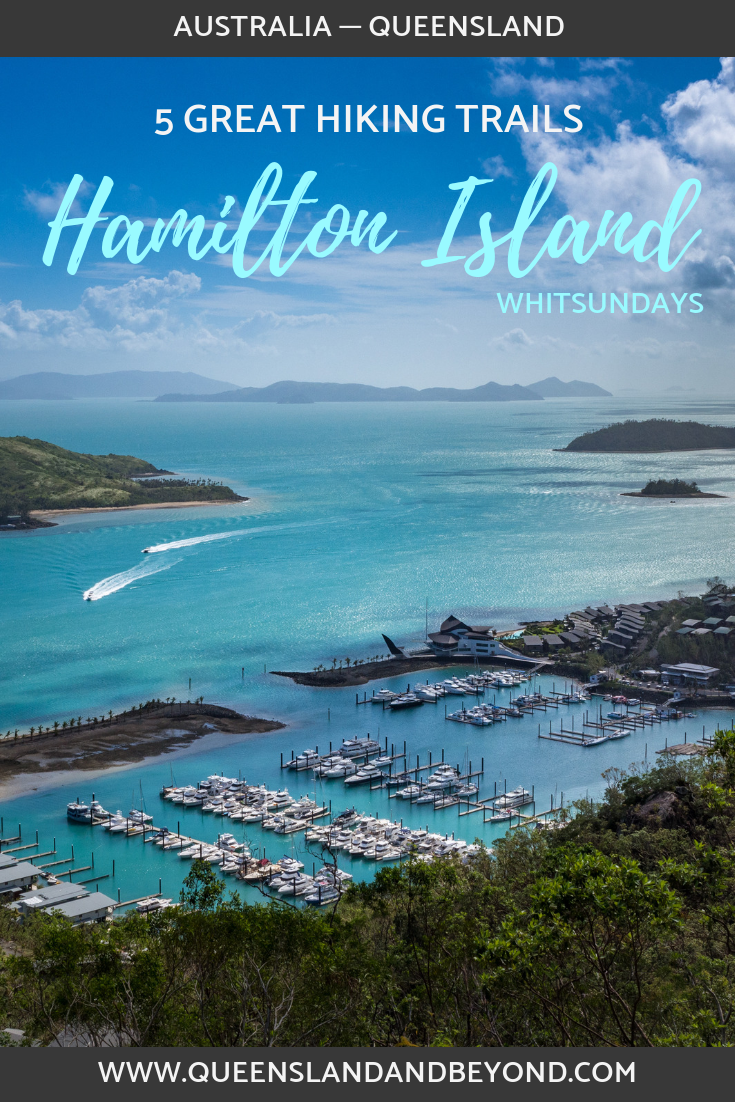 Hamilton Island in the Whitsundays isn't just made for snorkling the Great Barrier Reef or lounging on the beach. Take one of these five scenic hikes to explore Hamilton Island. Includes three awesome spots of sunsets!