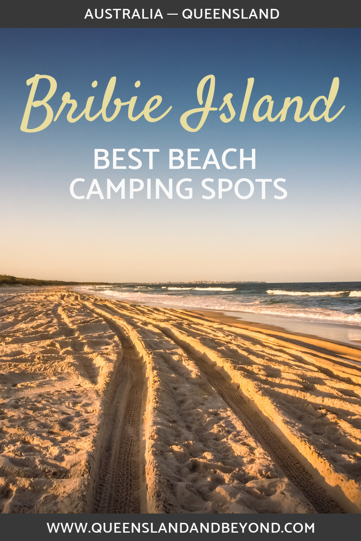 Find out where to do beach camping an hour north of Brisbane! Camping is one of the best way to see Bribie Island. Read more about camping at Bribie, Queensland.