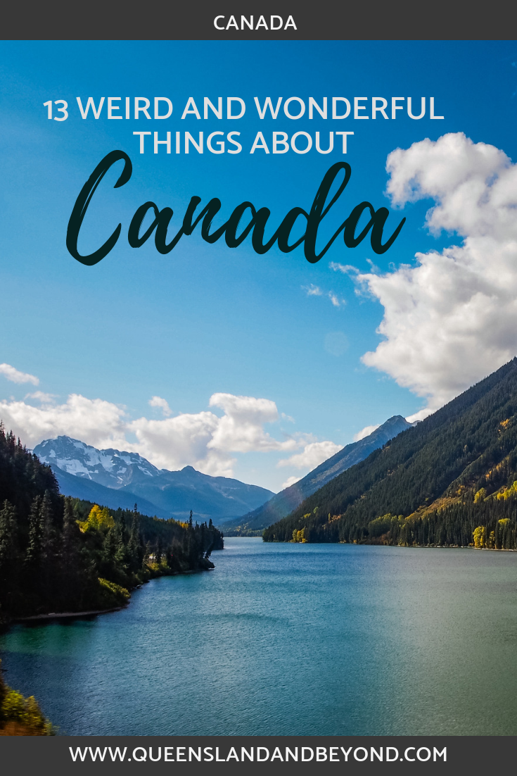 """Ever wondered what it's like visiting Canada for the first time? Here's my collection of 13 weird and wonderful """"facts"""" from our six weeks roadtrip, including why buying milk can be a challenge!"""