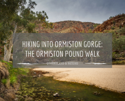 Into Ormiston Gorge: Hiking the Ormiston Pound Walk