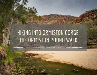 Into Ormiston Gorge: Hiking the Ormiston Pound Walk