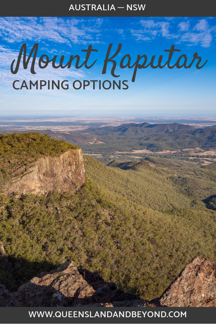 Camping at Mount Kaputar National Park in northern NSW