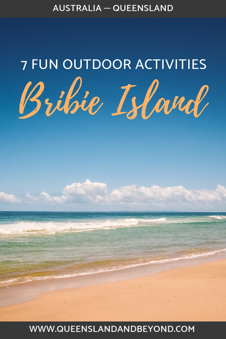 Bribie Island is just a day trip away from Brisbane or the Sunshine Coast. Here are 7 outdoor ideas for things to do on Bribie, including exploring historic Fort Bribie on the beach.