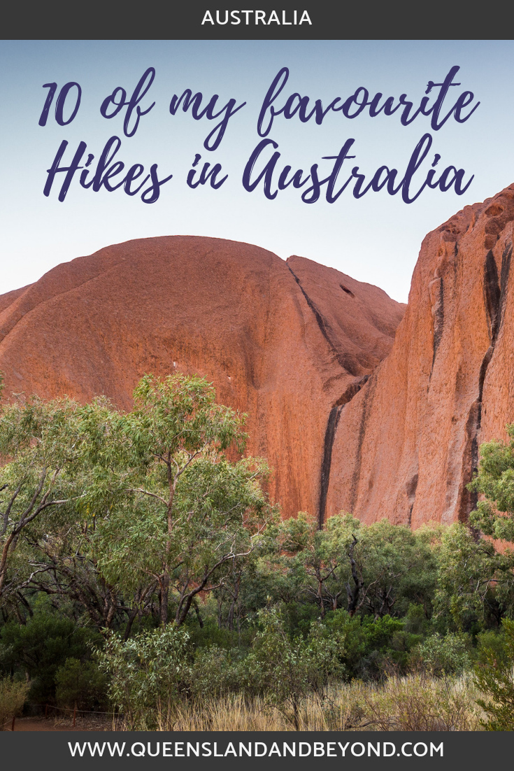 Hiking around Uluru, one incredible hike in Australia