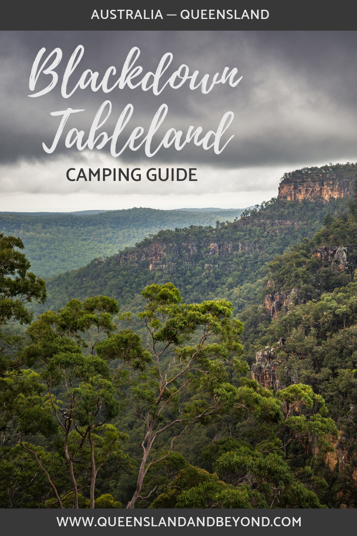 Blackdown Tableland National Park in Central Queensland is full of rainforest gullies, rock pools and indigenous rock art. Camping is a great way to explore it. Here's what you need to know about camping at Blackdown Tableland.