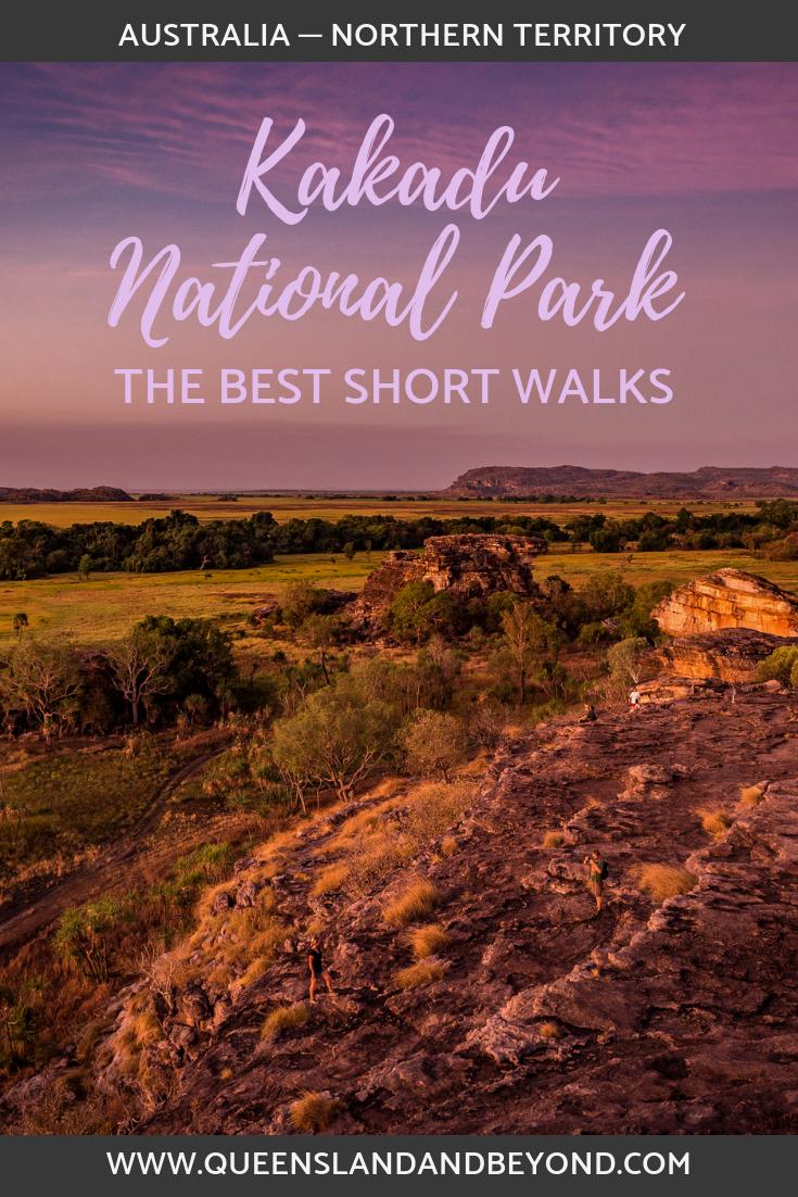 Looking out from Ubirr, Kakadu National Park