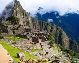 Fernweh Postcard from Machu Picchu, Peru