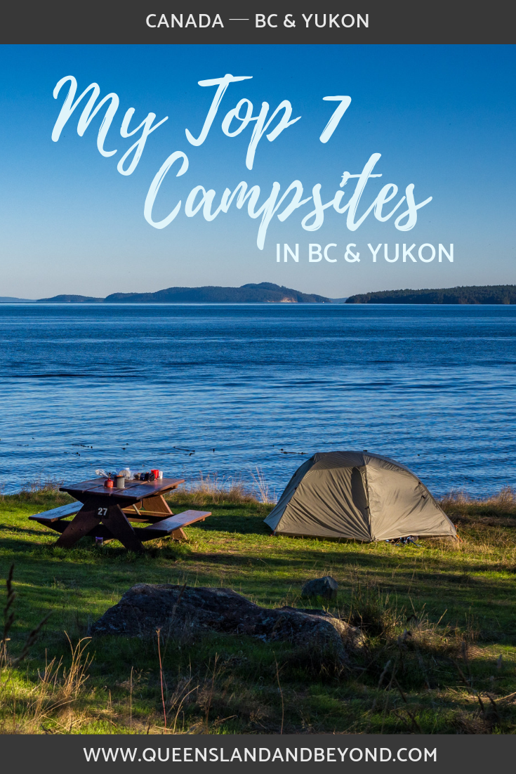 Great camping spots in Canada