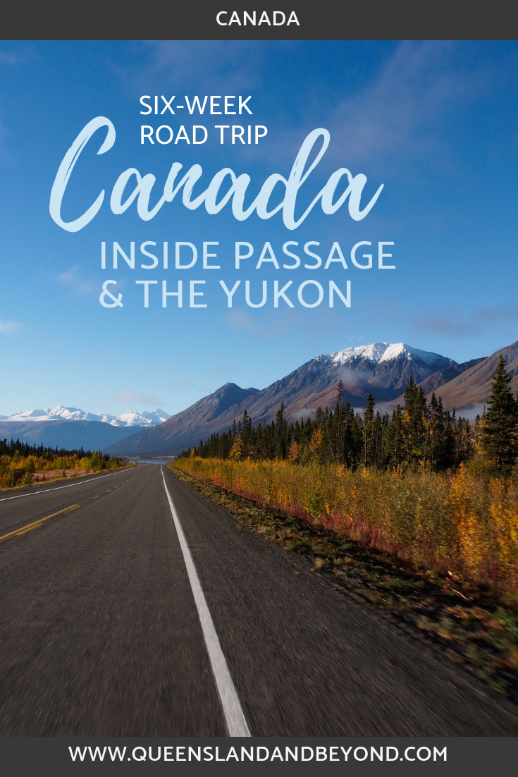 Along the Alaska Highway, Yukon, during our 6-week Canada road trip