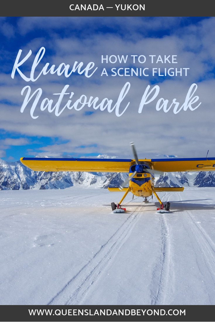 Scenic flight over Kluane National Park