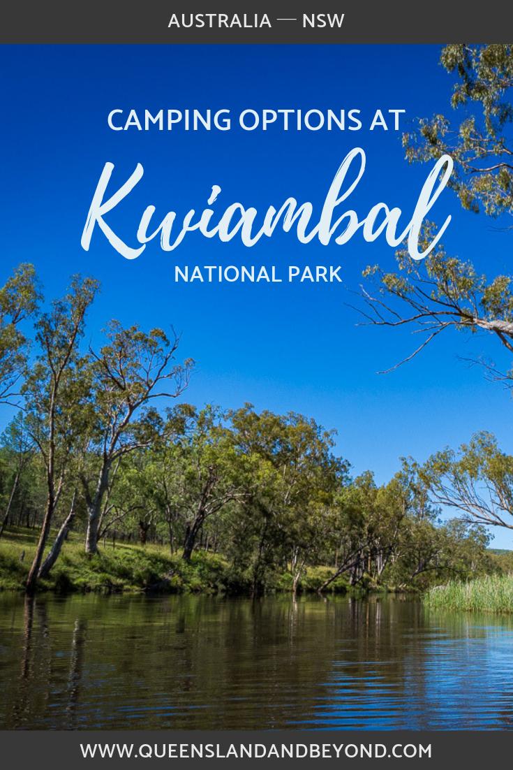 Camping at Kwiambal Naitonal Park