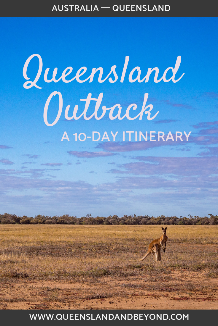 Queensland outback road trip in 10 days