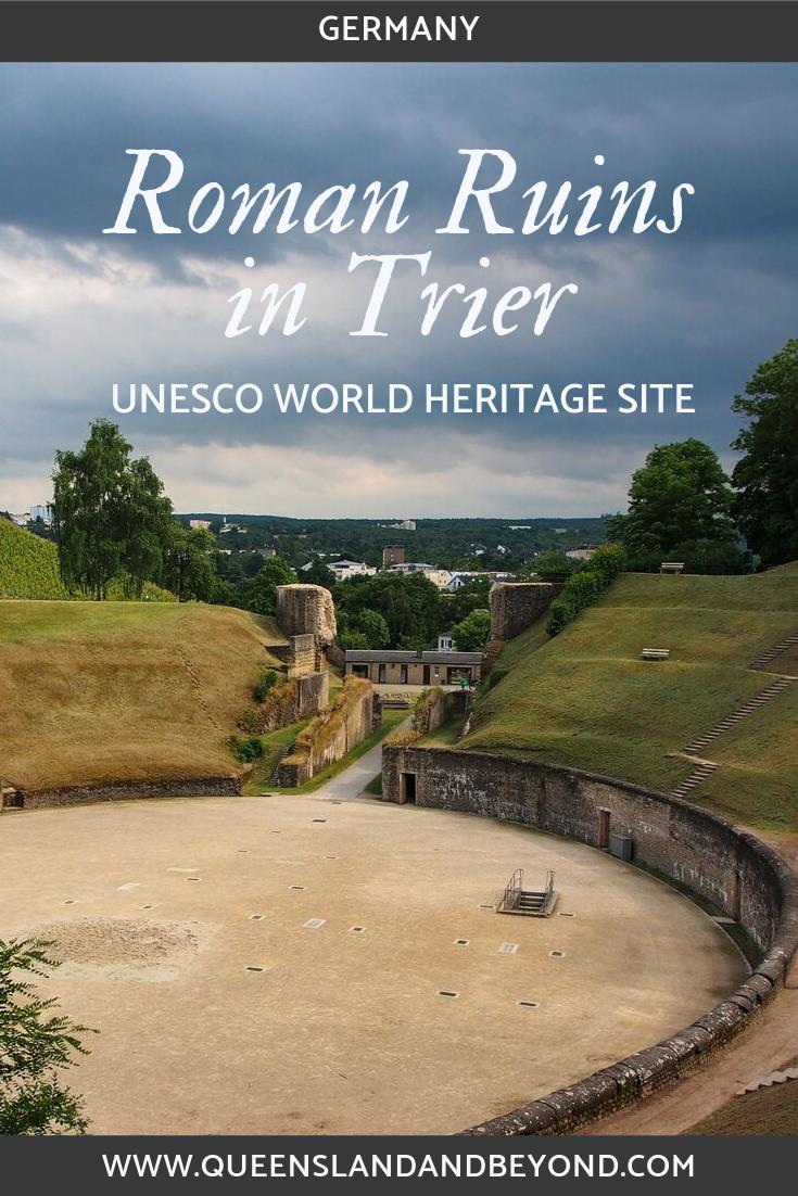 Roman ruins in Trier, Germany