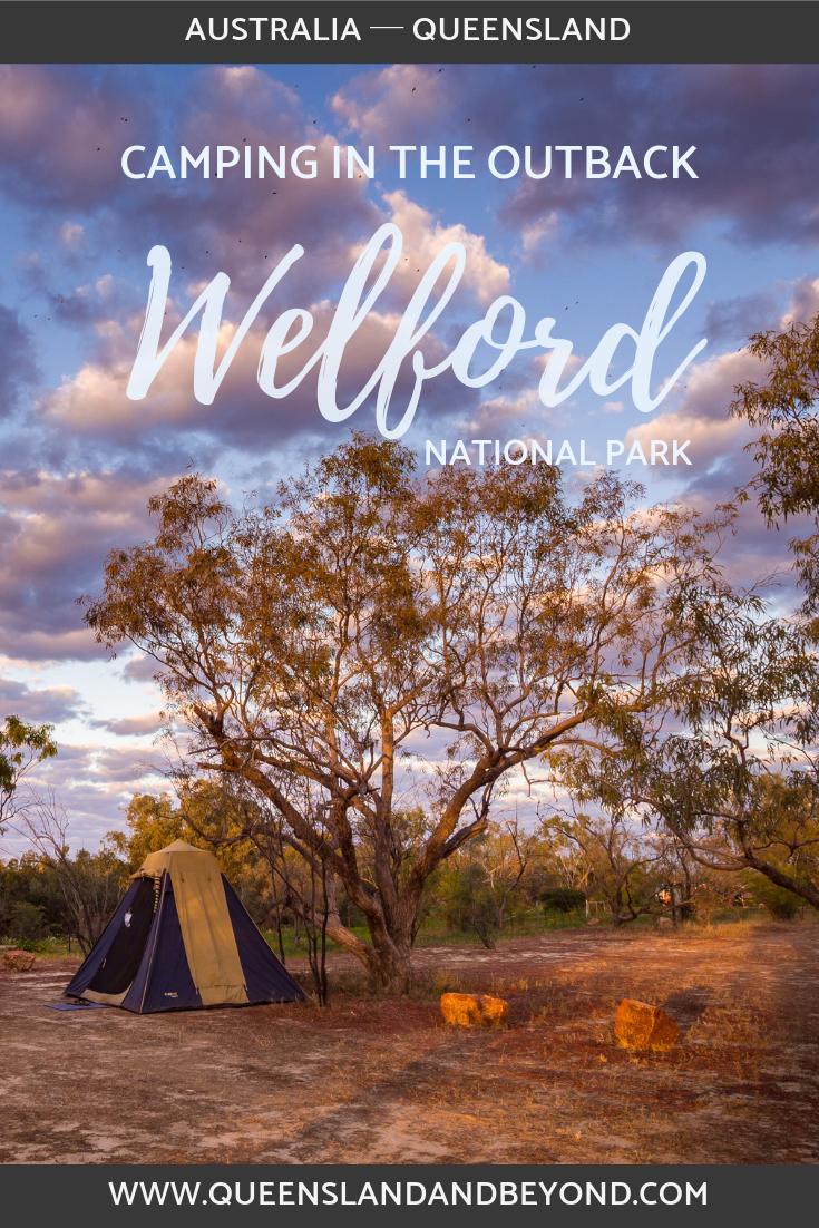 Camping at Welford National Park