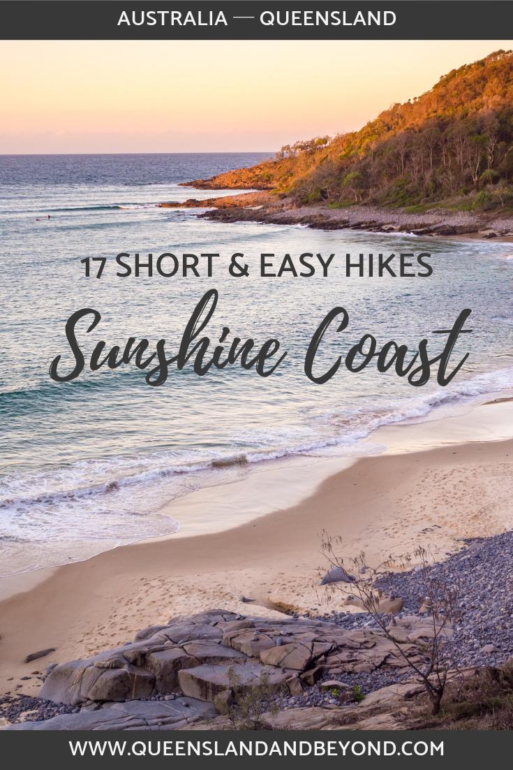 Short walks on the Sunshine Coast, Australia