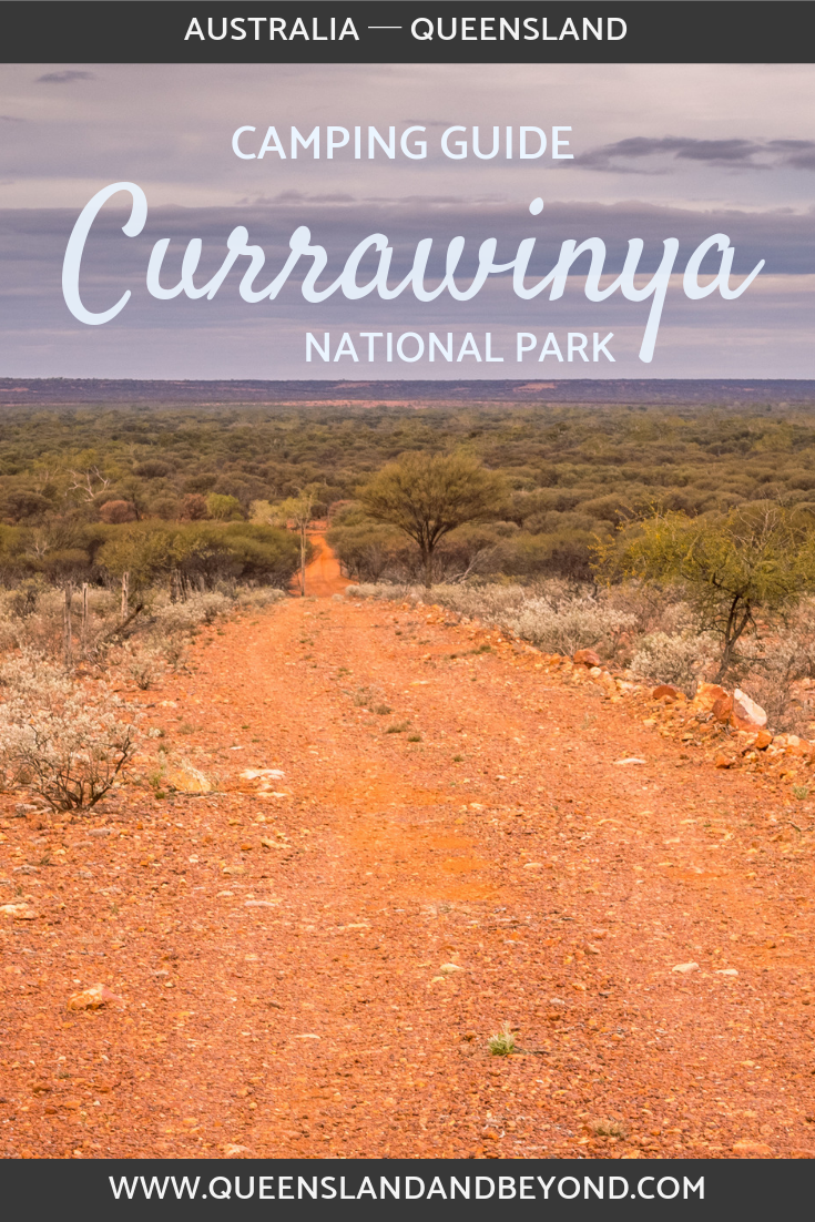 Camping at Currawinya National Park