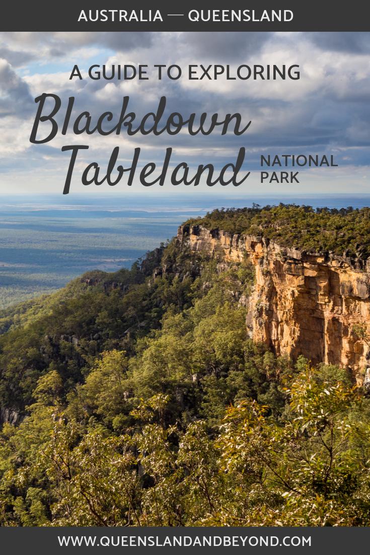 Guide to Blackdown Tableland National Park, Queensland