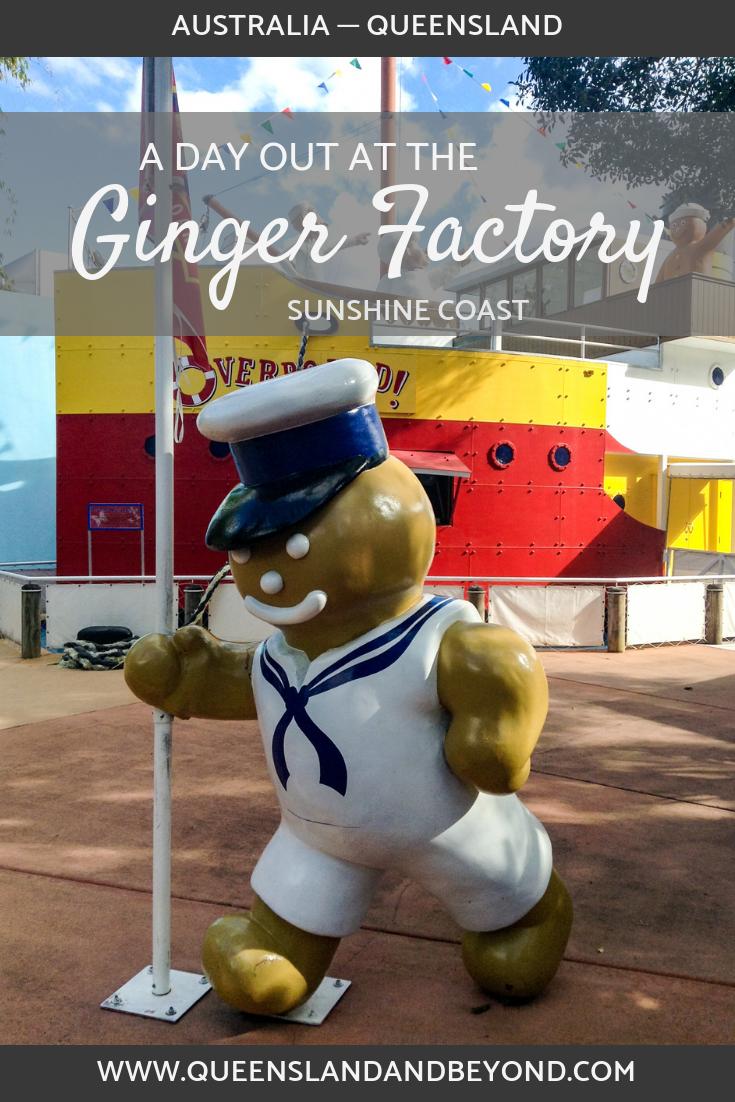 Visiting the Ginger factory, Sunshine Coast, Queensland