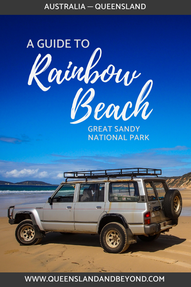 Guide to Rainbow Beach, Great Sandy National Park
