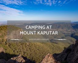 Mount Kaputar: Camping Options