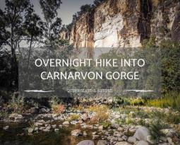 Hiking into Carnarvon Gorge (Carnarvon National Park)